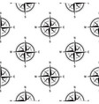 seamless pattern compasses vintage vector image vector image