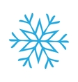 Snowflake Icon graphic vector image
