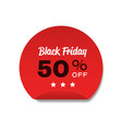 special offer sale promo marketing black friday vector image vector image