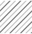stripes black white seamless pattern diagonal vector image vector image