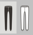 tights vector image vector image