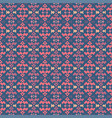 tribal art seamless pattern ethnic geometric vector image vector image