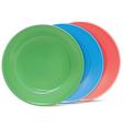 Plates set vector image