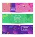 color abstract geometric background promotion web vector image vector image
