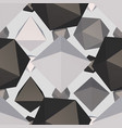 difficult geometric shape seamless pattern vector image vector image