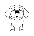 dog house pet icon image vector image vector image