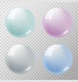 soapbubbles vector image vector image
