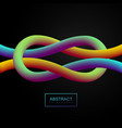 vibrant gradient shape vector image vector image