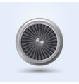 Jet Engine vector image vector image