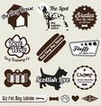 Dog and Pet Store Labels