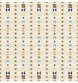 geometric ethnic seamless pattern vector image