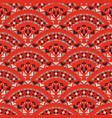 tribal art seamless pattern ethnic geometric vector image