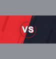 versus screen vector image