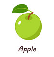 apple icon isometric style vector image vector image