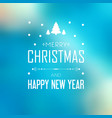 bright merry christmas festive template vector image vector image