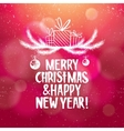 Christmas and new year abstract background with vector image