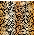 fur spots seamless pattern gold mesh vector image
