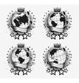 Globes Set vector image vector image