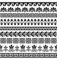 greek seamless pattern set - ancient design vector image vector image