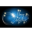 Handwritten Christmas Lettering vector image vector image