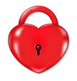 Heart Lock vector image
