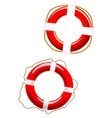 Life buoy icons vector image