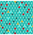 Seamless pattern of small triangles vector image vector image