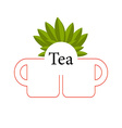 Tea isolated vector image