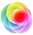 rose abstract vector image