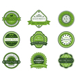 Bio and ecological labels set vector | Price: 1 Credit (USD $1)