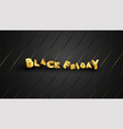 black friday background layout background black vector image