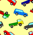 Car seamless wallpaper vector image vector image