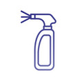 cleaning spray bottle laundry disinfect fluid vector image vector image
