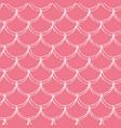 little mermaid seamless pattern vector image vector image