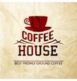 Menu for restaurant coffee house