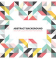 modern background with triangles and lines vector image vector image
