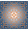 seamless ornamental abstract pattern vector image