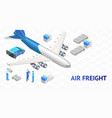 air freight delivery poster