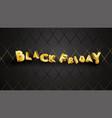black friday background layout background black vector image vector image