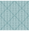 Blue baroque bright pattern vector image vector image
