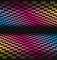 colored grids background pattern rainbow colored vector image