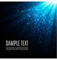 gold glow particles bokeh glitter effect burst vector image vector image