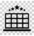 hotel stars icon vector image