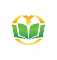 Library Logo vector image vector image