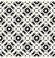 seamless pattern abstract geometric monochrome vector image