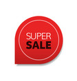 special offer super sale tag promo marketing vector image vector image