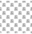 stand board pattern seamless vector image