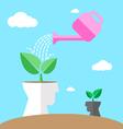 watering environmental mind vector image