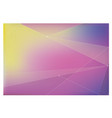background with purple and pink and yellow vector image vector image