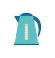 cartoon kettle isolated on white vector image